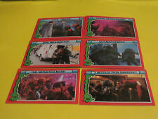 1991 TEENAGE MUTANT NINJA TURTLES II  Secret of the Ooze CARDS#59-65-66-78-83-95