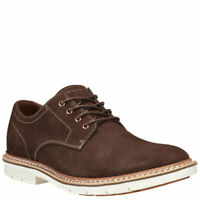 Timberland NAPLES TRAIL Brown Mens Size 9M SUEDE Oxfords Shoes