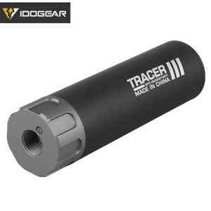 IDOGEAR Airsoft Lighter S Tracer Glow In Dark Airsoft Tracer Unit BB Supressor