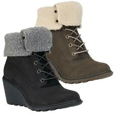 Timberland Amston Roll-Top wedge boots women's boots shoes winter boots