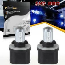 2pcs 880 892 893 899 5730 SMD LED Fog Light Bulbs Xenon Blue High Quality