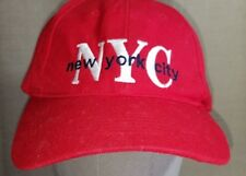 MATRIX NYC New York City Cap Red One size Fits All Hat