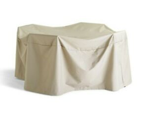 """Frontgate Universal Table and Chair Cover 48"""" Round Table Cover TAN 160482 (NEW)"""