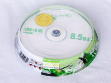 10 Pack Blank DVD+R DL D9 8.5GB 8.5G  A+ class 8X Dual Layer Sealed Case