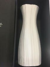 Rosenthal Plissee Vase 38cm weiß matt Studio Line Martin Freyer NEU OVP