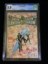 DC COMICS: GREEN LANTERN #86, 10-11/71, CGC 3.0, Neal Adams, 8010