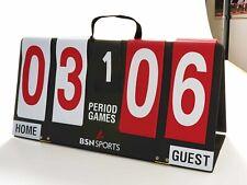 Flip Scoreboard Manual Portable Sport Games Outdoor Volleyball Soccer Basketball