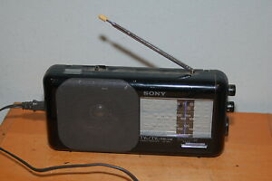 Vintage Sony 4 Band Radio Receiver TV AM FM ICF-860 FREE SHIPPING
