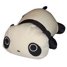 "Snow Foam Micro Beads 14""-16"" Japanese Lying Down Tare Panda Cushion Pillow-New"