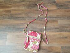 Vera Bradley Hello Dahlia Crossbody Purse Small Hipster Shoulder Bag Messenger