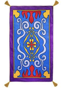 "Disney Magic Carpet Beach Towel Aladin 40""x70"" Bath Genie Abu New"