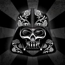 "2.5"" Star Wars Darth Vader Sugar skull sticker / decal. Jedi Empire The Force"