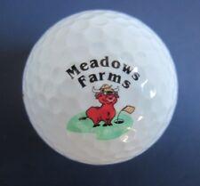 New listing Meadows Farms Golf Course Logo Golf Ball Locust Grove, Virginia VG