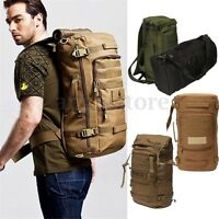 50L Military Tactical Backpack Rucksack Outdoor Sport Camping Reisetasche  AU