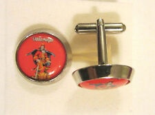 Captain Morgan Cuff Links , Captain Morgan Whiskey logo cufflinks,Captain Morgan