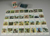 Karten Quartett - Feuerstühle 1970er J - Kartenspiel  kpl. mit 32 Karten  /260