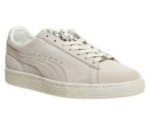 Womens Puma Beige Suede Lace-Up Trainers UK Size 6* Ex Display