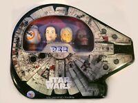 Star Wara Pez 2017 Collectible Gift Tin Millennium Falcon Four Pack Han Solo NEW
