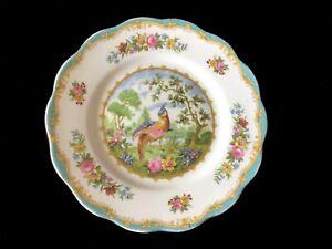 Royal Albert CHELSEA BIRD 18cm Dessert Plate 1st  c1950's