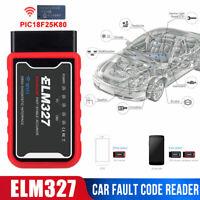 ELM327 V1.5 Bluetooth /WIFI OBD2/ OBDII Car Diagnostic Code Reader Scanner Tool