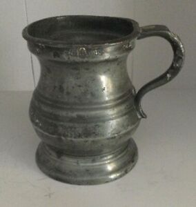 Pewter Gill Measure. Breweriana.