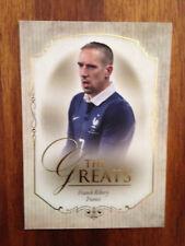 2015 Futera Unique Greats Football Soccer Card France RIBERY Mint