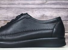 SAS 'Traveler' Comfort Black Leather Lace-Up Oxford Shoe Sneaker Womens Size 8 M