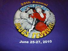 Monterey Bay Blues Festival  Shirt ( Used Size XXL ) NEW!!!