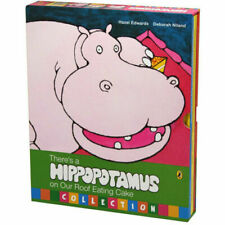 There's a Hippopotamus on Our Roof Eating Cake 4 Book Set Hazel Edwards Niland