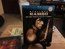 RAMBO blu ray box set collection