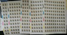 SPECIAL LOT - Argentina 1985-88 - Flower - 10 Sheets of 100 - MNH