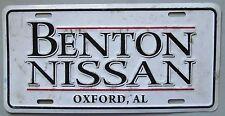 1990's OXFORD, ALABAMA - BENTON NISSAN DEALERSHIP BOOSTER License Plate