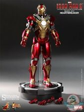 1/6 Iron Man 3 Mark 17 Heartbreaker Movie Masterpiece By Hot Toys Used JC