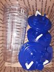4 MEDI VAC 1200CC SUCTION CANISTER CASE OF 4