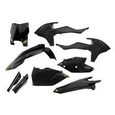 FITS: KTM 125 150 250 SX SX-F XC XC-F Cycra Powerflow Plastic Body Kit Black