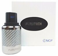 FURUTECH FI-50 NCF (R) High-End 15A Inlet Plug Rhodium-Plated from Japan by DHL