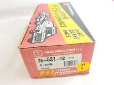 Autospecialty 26-521-02 Brake Pads 91-95 Dodge Plymouth Daytona Dynasty Caravan