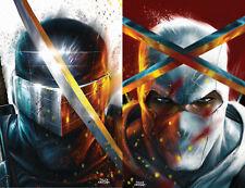 GI Joe Snake Eyes Deadgame 1 IDW 2020 Tyler Kirkham Virgin Set of 2 Variant