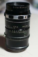 """Schneider Kreuznach Cine-Xenon 50mm F2 2:1 C-mount 1"""" Bolex H16 TV Cine Lens"""