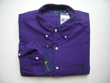 Men Polo Ralph Lauren Oxford Shirt Long Sleeves All Sizes - CLASSIC FIT - NWT