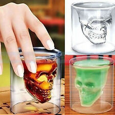 Skull Head Vodka Shot Glass Fun Creative Designer Doomed doom EW