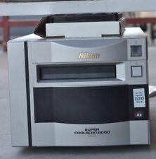 Nikon Super Coolscan 8000 ED Film Scanner w/ 35mm & 120 Film Holders  (237)