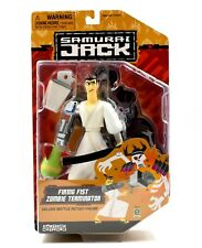 Cartoon Network Samurai Jack Firing Fist Zombie Terminator Deluxe Action Figure