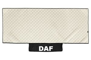 Truck Bed Cover PU Leather Bedspread for DAF XF 106 2013+ Beidge Lorry Coverlet