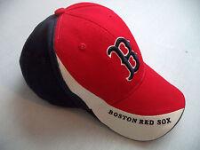 Mens Boston Red Sox baseball hat cap one size team ball bat