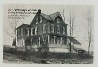 Postcard Parsonage of East Vincent Reformed Church Parkerford Pennsylvania