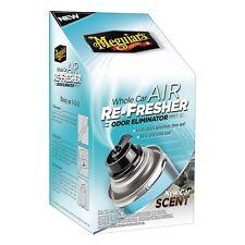Meguiar's Whole Car AIR RE-FRESHER  Odor Eliminator Truck SUV (NEW CAR SCENT)