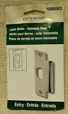 Commercial Door Latch Strike Plate For Metal or Wood Door Jam 160954