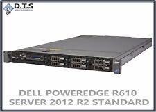 DELL POWEREDGE R610 SERVER E5620 2.4GHZ  24GB H700 WINDOWS SERVER 2012 R2 COA