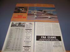 VINTAGE..1980 CESSNA 152...HISTORY/DETAILS/PHOTOS/SPECS..RARE! (574H)